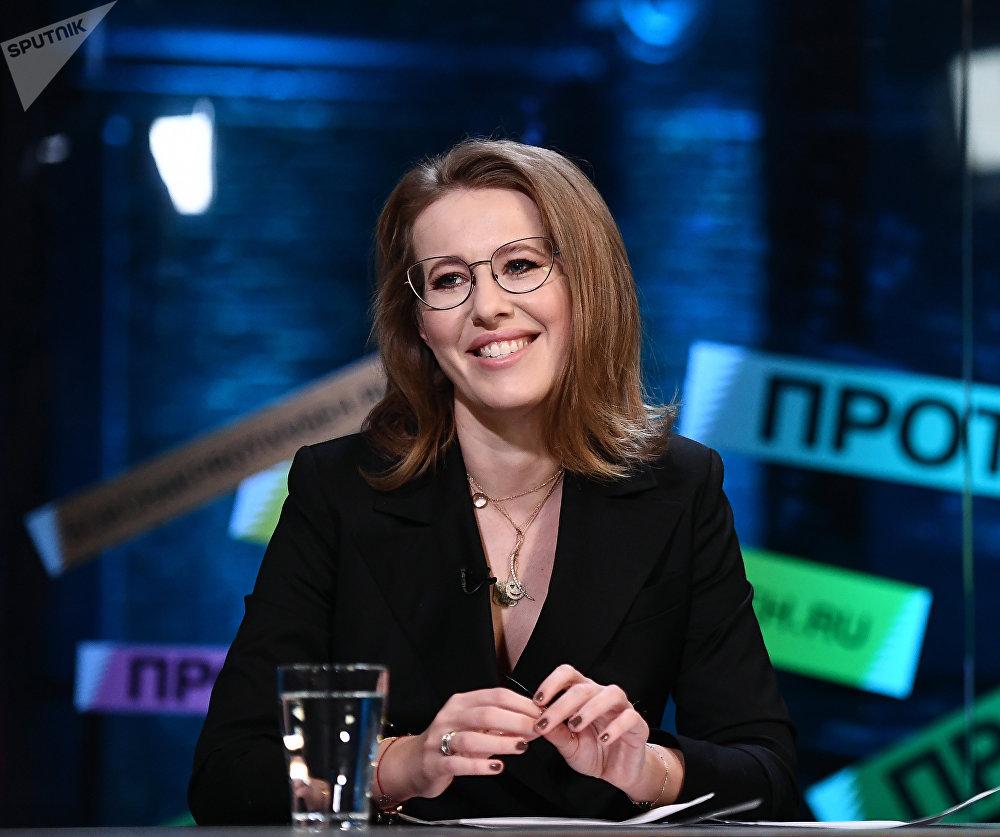 كسينيا سوبتشياك: مرشح ضد الجميع