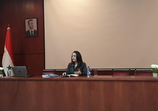 ســلام ســفّاف، وزيرة التنمية الإدارية السورية