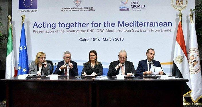 برنامج التعاون عبر الحدود لحوض البحر المتوسط
