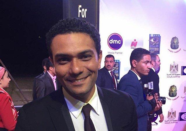 الممثل المصري آسر ياسين