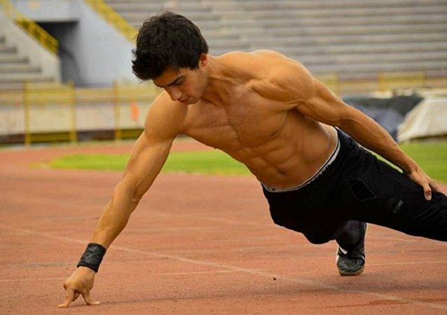 لاعب التايكوندو السوري عبد الله سقاطي