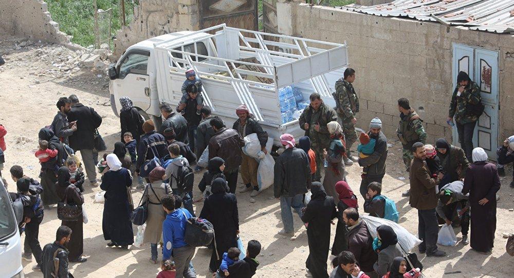 حملةُ جديدة تستهدف مدنيي الغوطة الشرقية والحكومة السورية