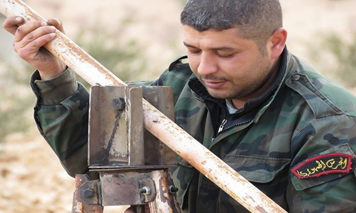 الجندي السوري إياس عجمية