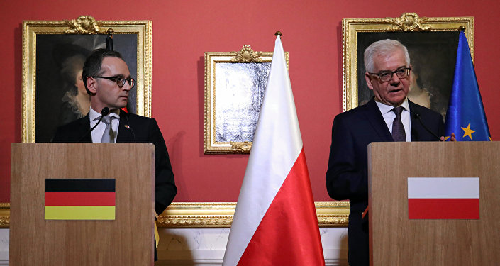 وزير خارجية بولندا وألمانيا