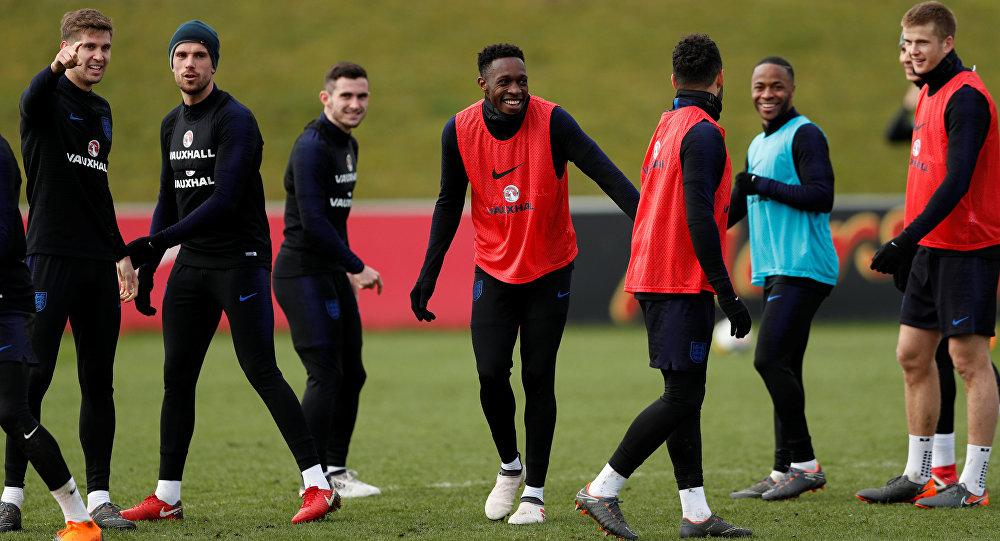 تدريبات المنتخب الإنجليزي