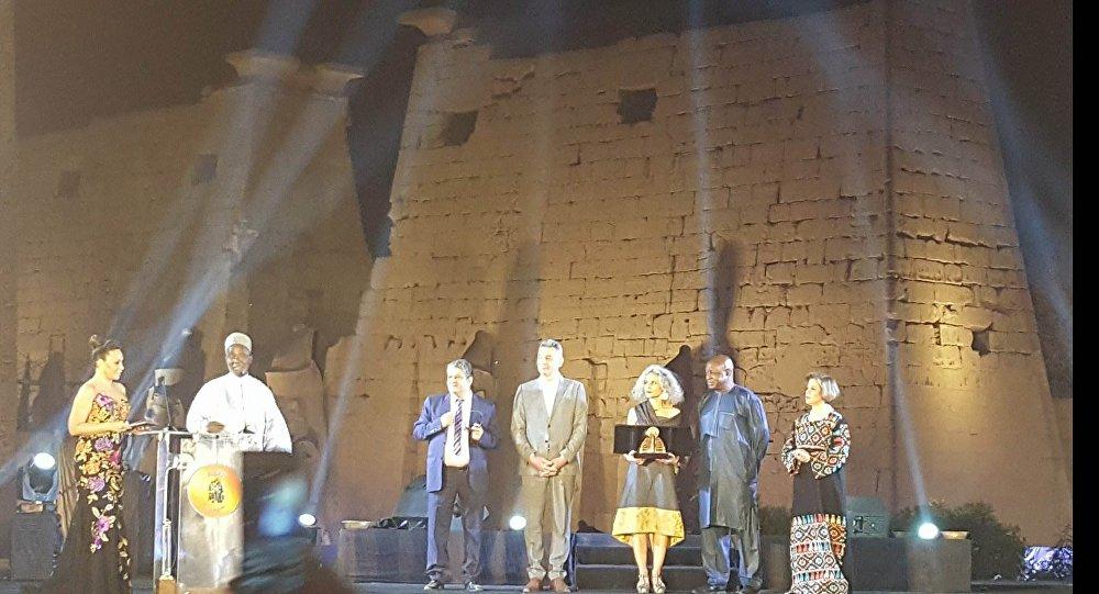 حفل ختام مهرجان الأقصر السابع للسينما الأفريقية في 22 مارس/آذار 2018