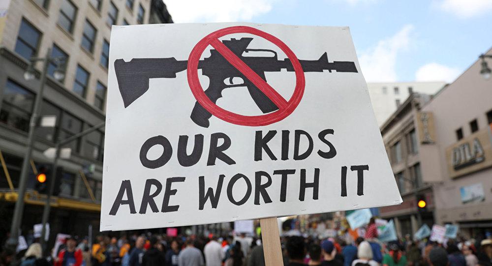 مسيرات في أمريكا ضد السلاح