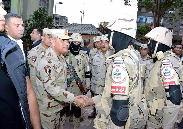 وزير الدفاع المصري
