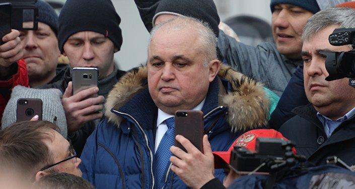 نائب محافظ مدينة كيميروفو سيرغي تسيليفي