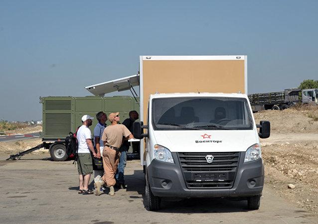عربة متجر فوين تورغ في حميميم