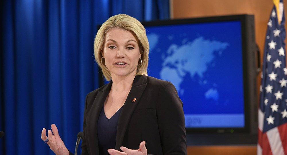 المتحدثة باسم وزارة الخارجية الأمريكية هيثر نويرت