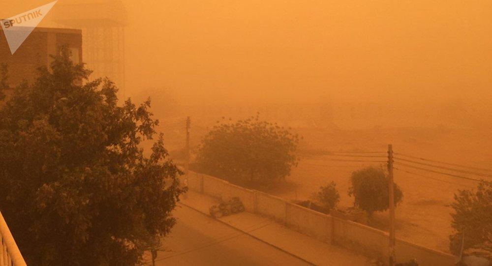 إغلاق مطار الخرطوم لأجل غير مسمى أمام رحلات الطيران بسبب العواصف الرميلة