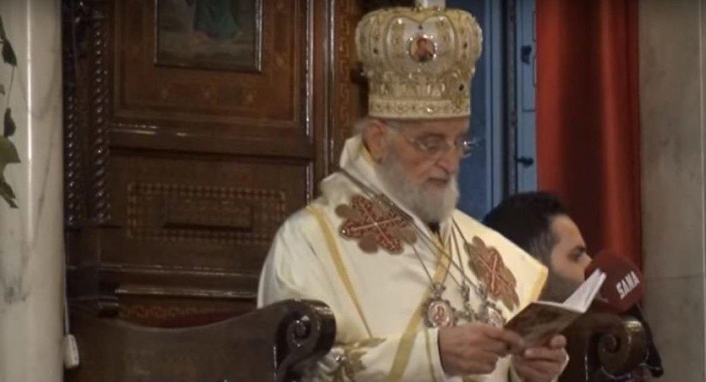 البطريرك غريغوريوس الثالث لحام بطريرك انطاكية وسائر المشرق للروم الكاثوليك