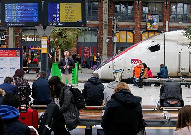 إضراب السكك الحديدية الفرنسية