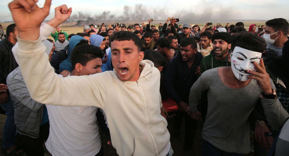 مسيرة العودة الكبرى على حدود قطاع غزة و إسرائيل، 2 أبريل/ نيسان 2018
