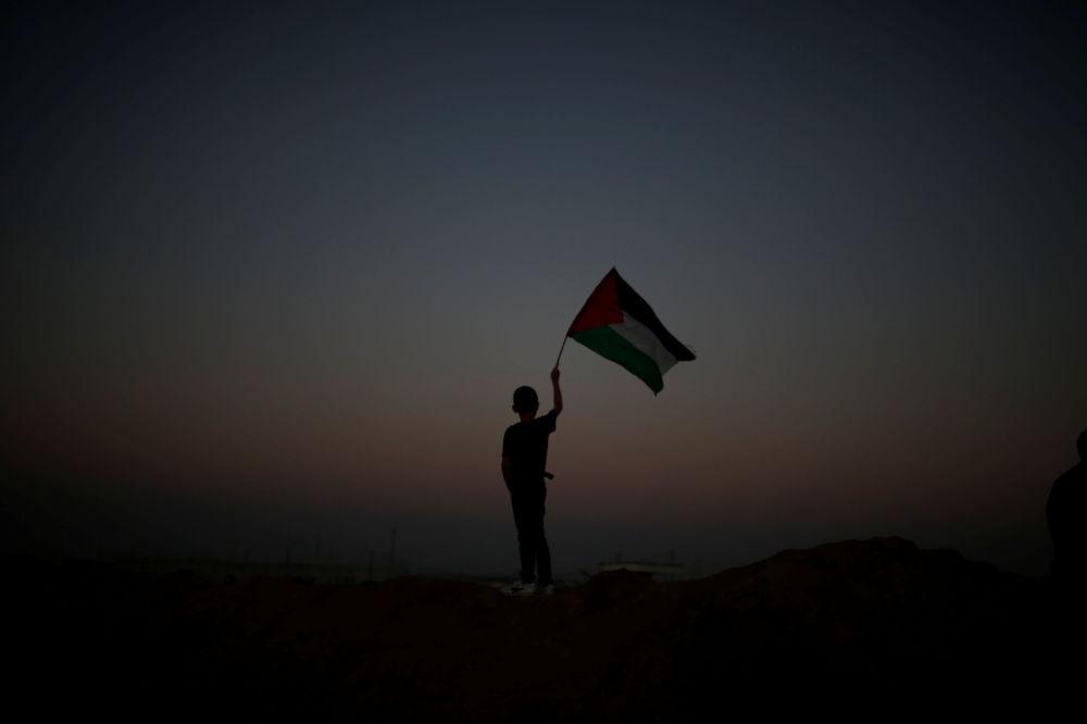 مسيرة العودة الكبرى على حدود قطاع غزة و إسرائيل، 1 أبريل/ نيسان 2018