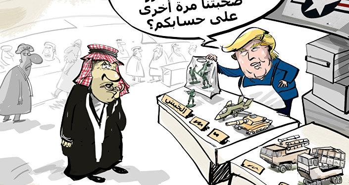 شرط ترامب للسعودية لابقاء الجيش الأمريكي في سوريا