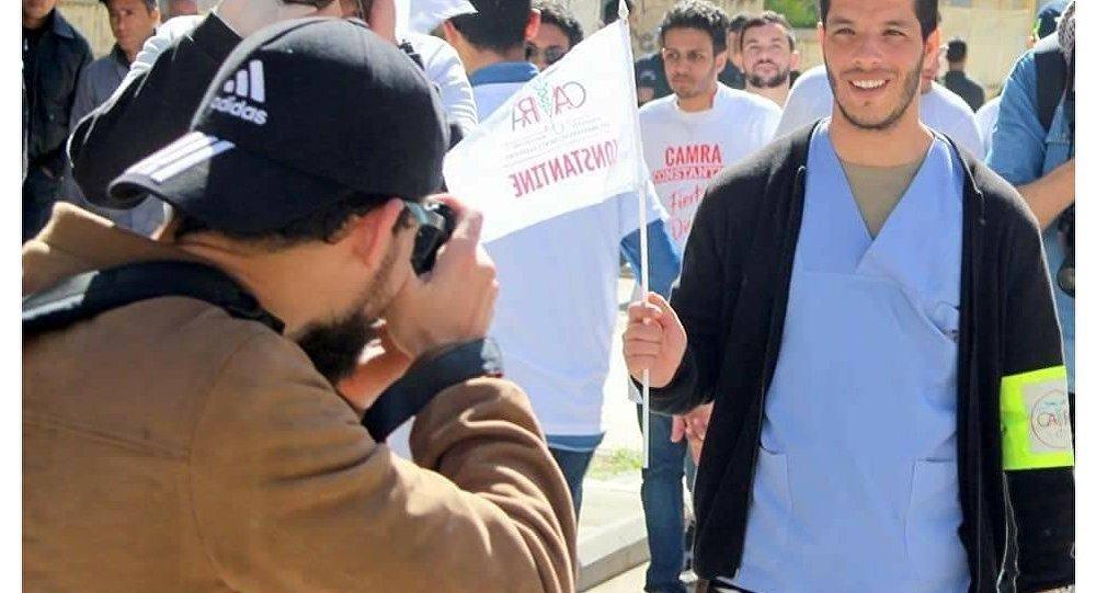 حمزة أبو طالب مسؤول إضراب أطباء الجزائر