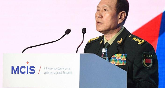 وزير دفاع جمهورية الصين الشعبية وي فنغ خه