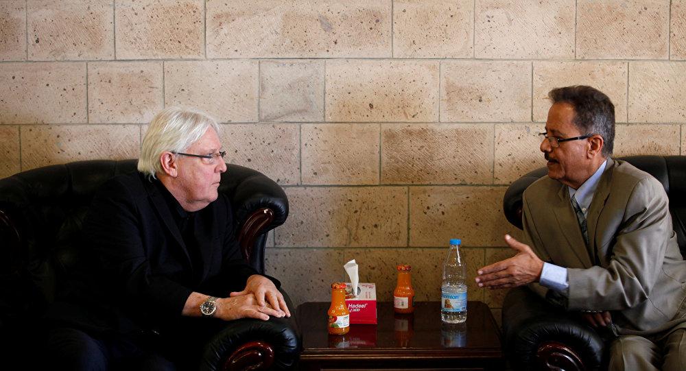 المبعوث الأممي إلى اليمن مارتن غريفيث