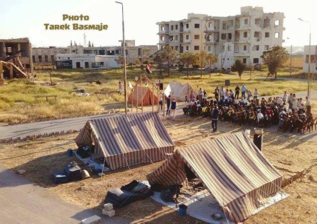 مخيم نوعي لليافعين في حلب