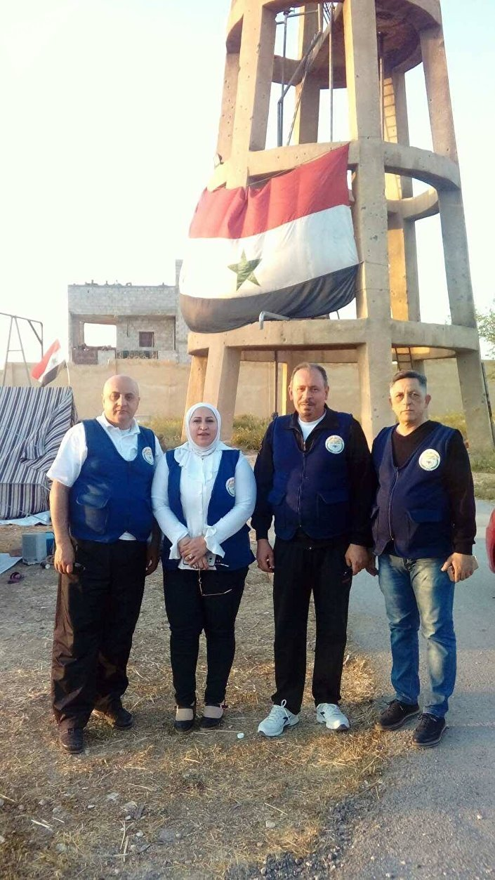 النائب في البرلمان السوري سلوم السلوم والقادة التطوعيون