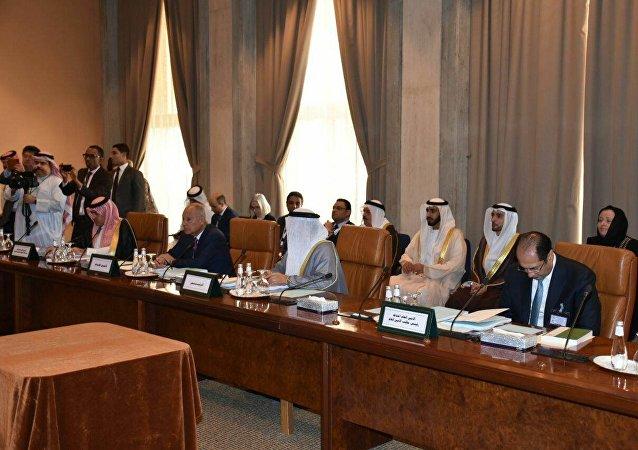 أحمد أبو الغيط - جامعة الدول العربية