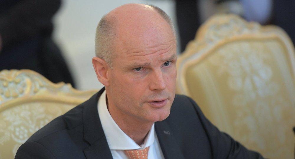 وزير الخارجية الهولندي، ستيف بلوك،
