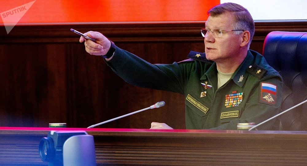 المتحدث باسم وزارة الدفاع الروسية، إيغور كوناشينكوف