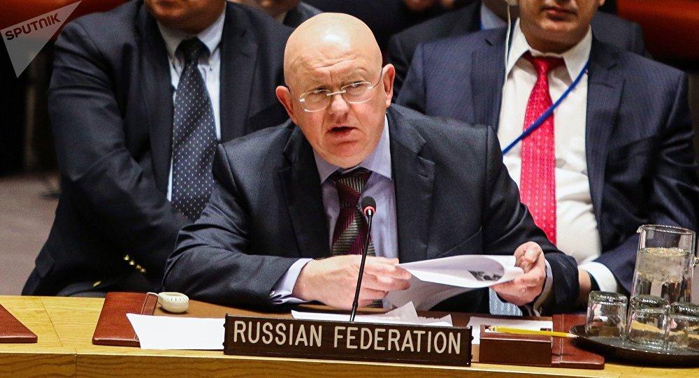مندوب روسيا الدائم لدى الأمم المتحدة، فاسيلي نيبينزيا