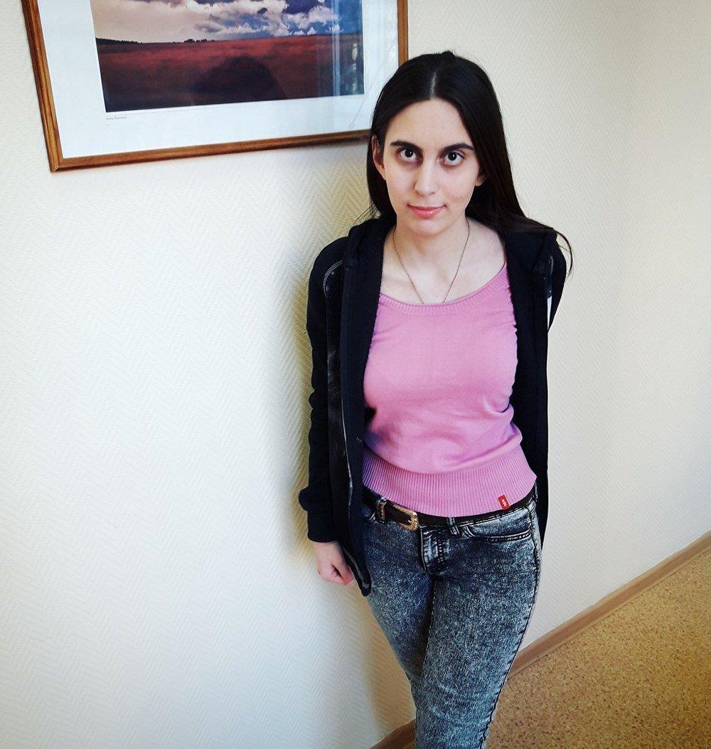 تمارة إليساشفيلي طالبة لغة عربية في روسيا