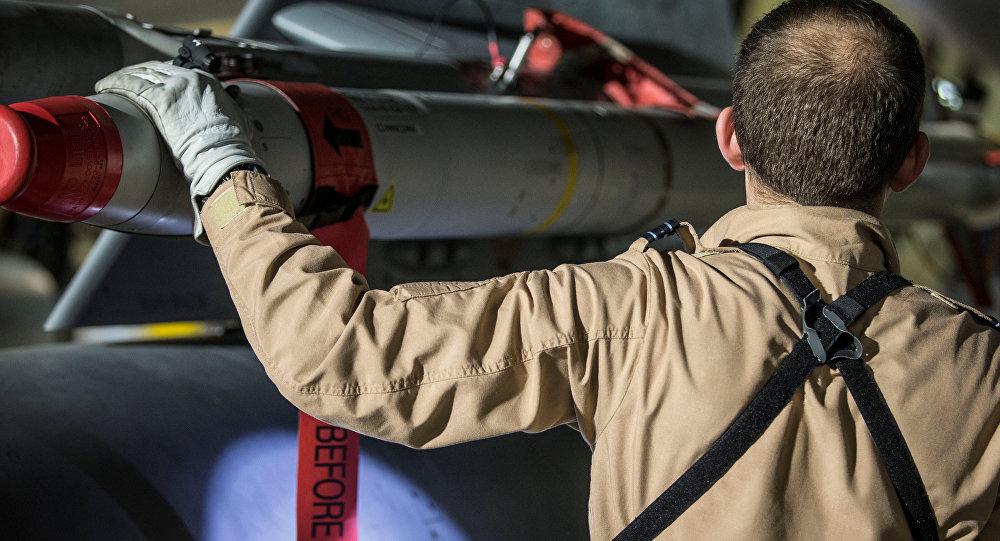 التحالف الثلاثي - الطيران العسكري البريطاني يستعد للضربة الجوية ضد سوريا، قبرص، 13 أبريل/ نيسان 2018