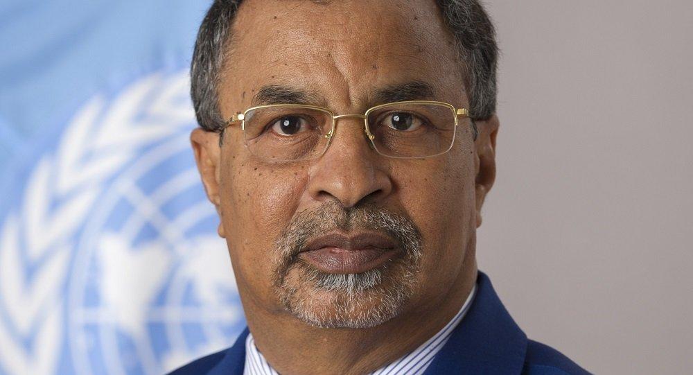 الممثل الخاص للأمين العام للأمم المتحدة ورئيس البعثة الأممية في مالي محمد صالح النظيف