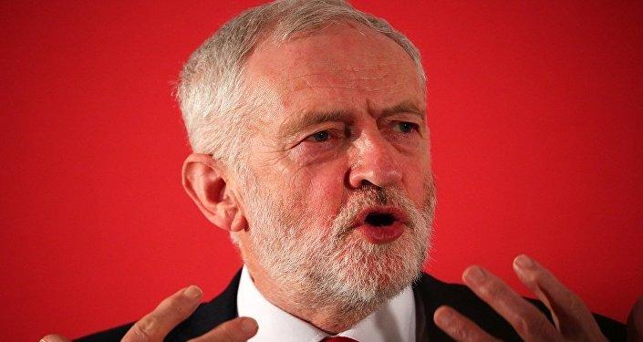 زعيم حزب العمال البريطاني المعارض جيريمي كوربين
