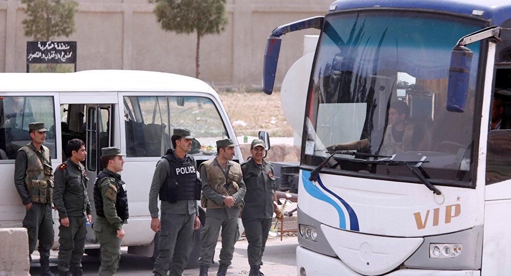 العسكريون السوريون في مدينة دوما