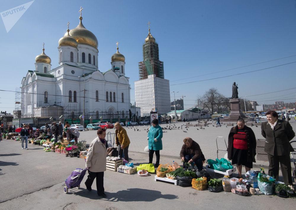 كاتدرائية ميلاد العذراء المقدسة في روستوف على نهر الدون