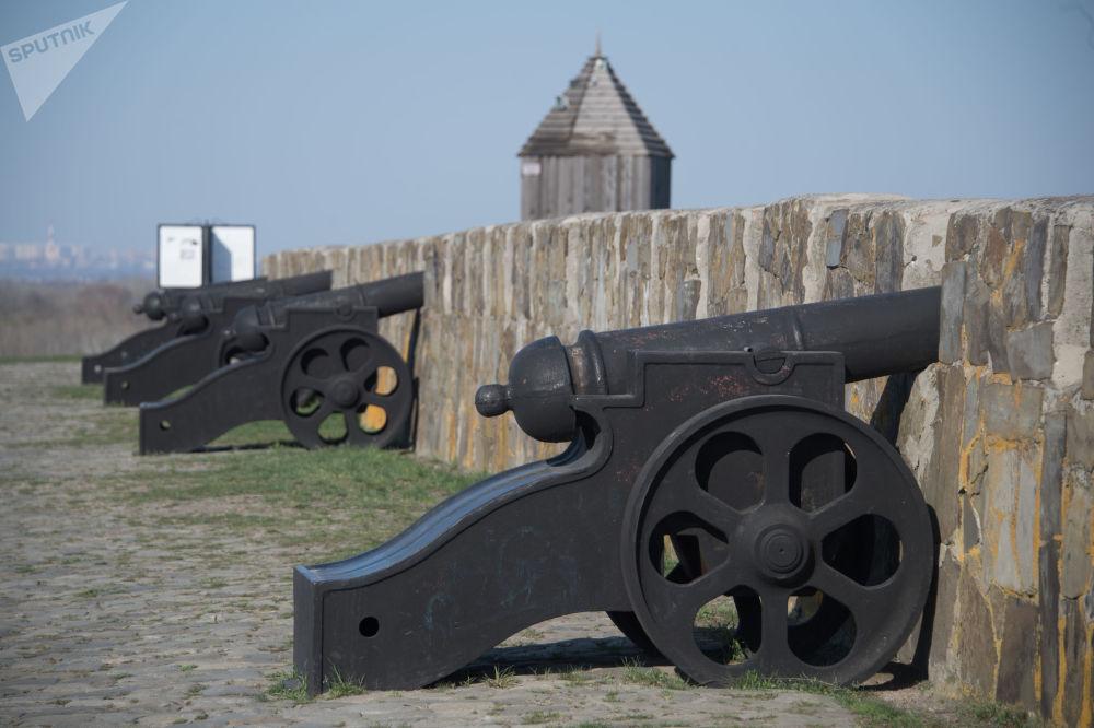 حصن آزوف في ضواحي مدينة روستوف