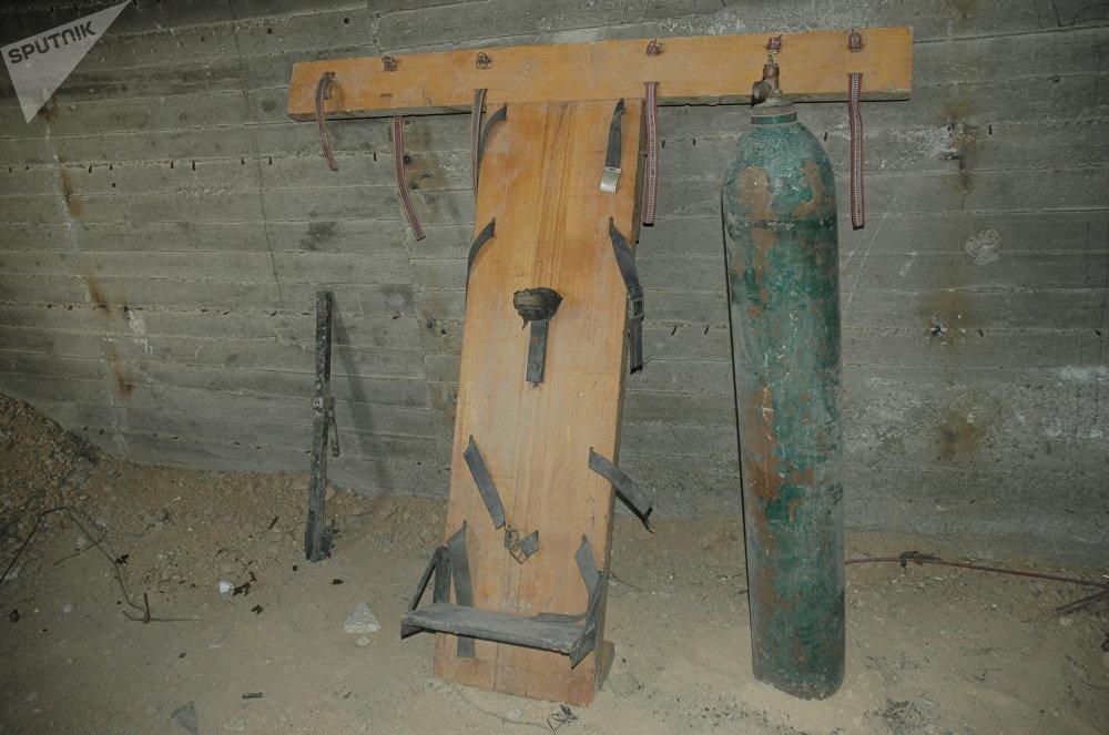 السجون التي كان يستخدمها جيش الإسلام في دوما