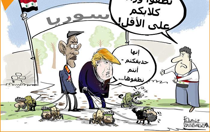 أمريكا لن تساعد سوريا في إعادة عمار البلاد