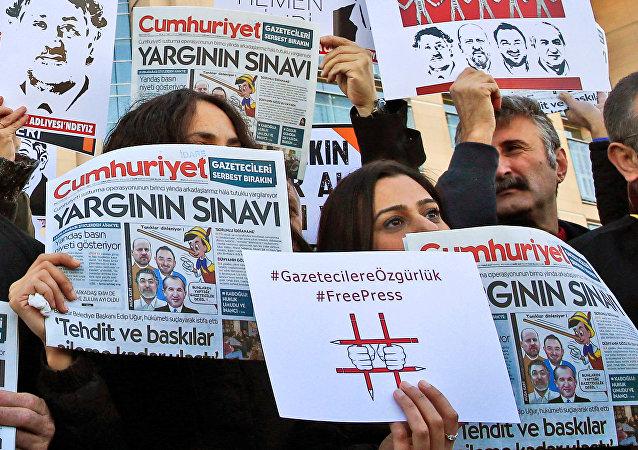جريدة جمهوريت التركية المعارضة