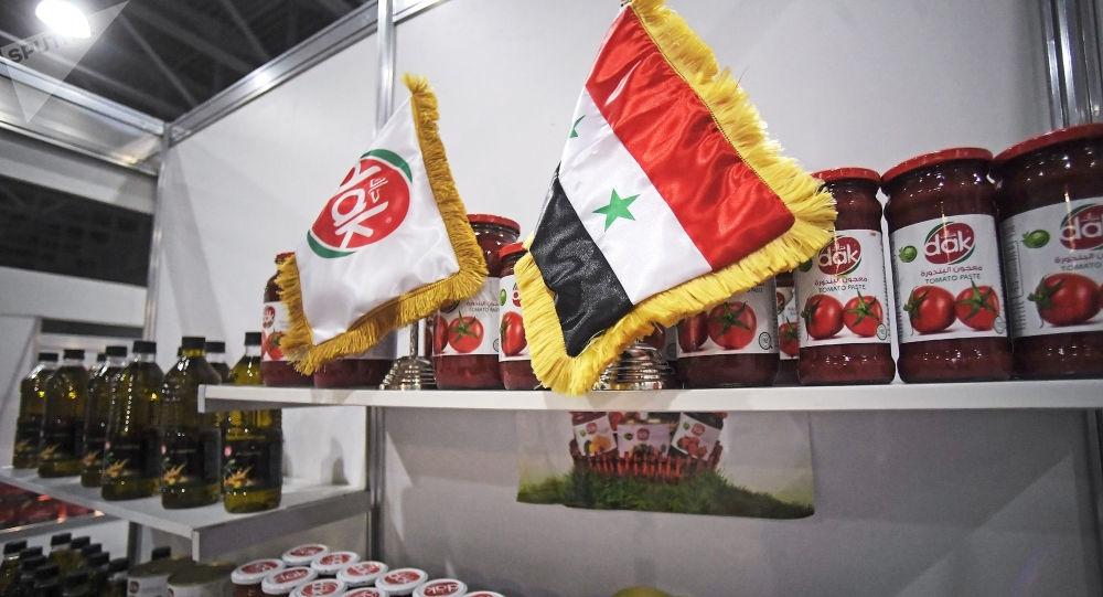 صنع في سوريا عنوان معرض اكسبو حلال في موسكو 2018
