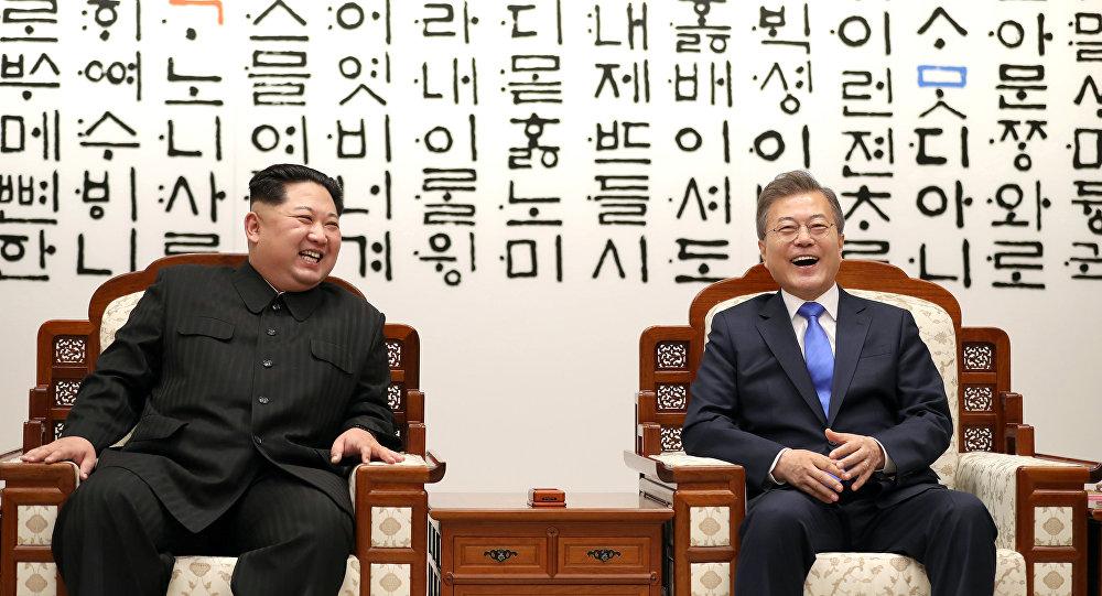 لقاء زعماء الكوريتين الشمالية والجنوبية