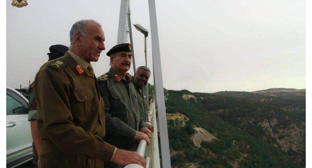 خليفة حفتر يشرف على الاستعدادات النهائية لمعركة تحرير درنة