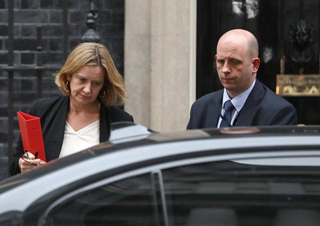 وزيرة الداخلية البريطانية أمبر رود
