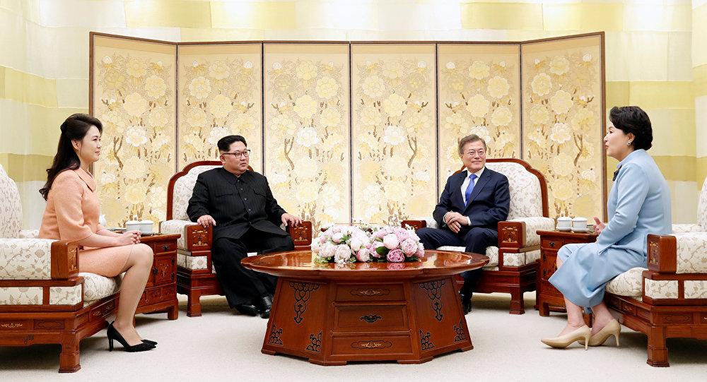 كوريا الشمالية كوريا الجنوبية