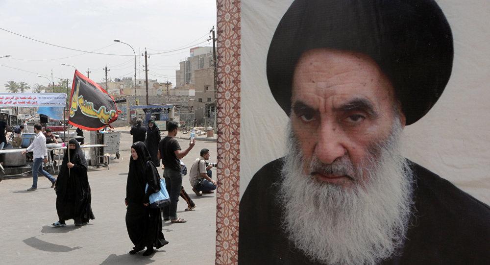 المرجع الديني في العراق السيد علي السيستاني