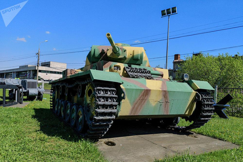 دبابة الحرب الخاطفة - بانزر-3