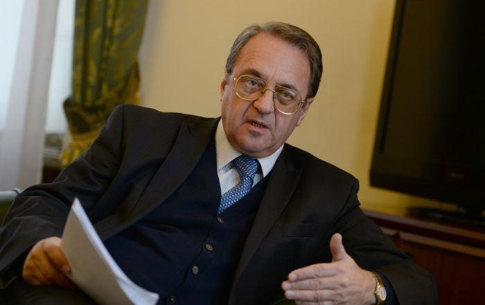 بوغدانوف يبحث مع قدري جميل تشكيل اللجنة الدستورية السورية