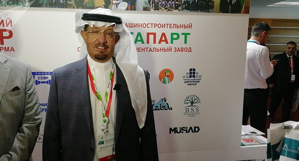 رئيس مجلس الأعمال السعودي الروسي عبد العزيز سعد فهد الكريديس