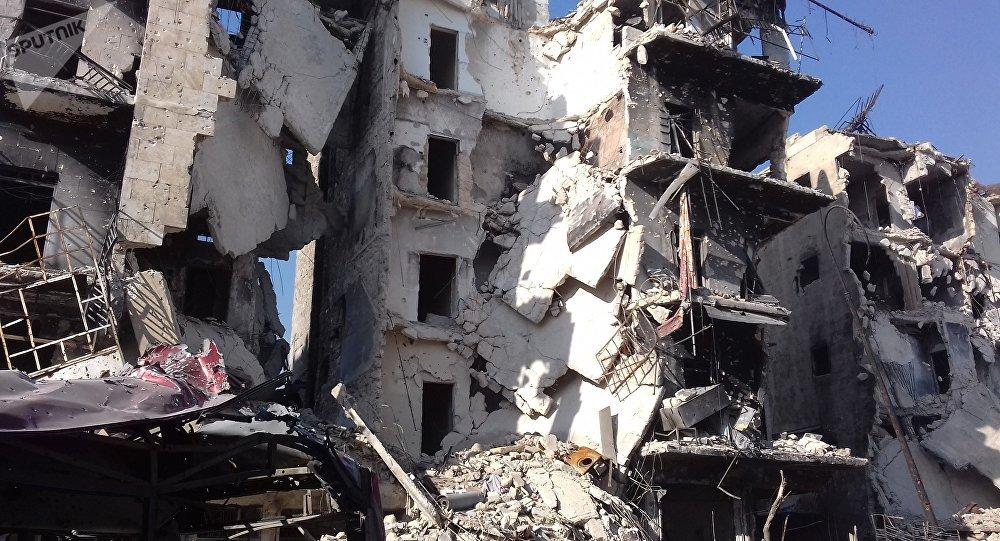 انفجار عبوة ناسفة من مخلفات المجموعات المسلحة شرقي حلب